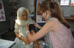 Medical volunteers and Interns