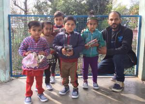 Kindergarten Shoes Distribution